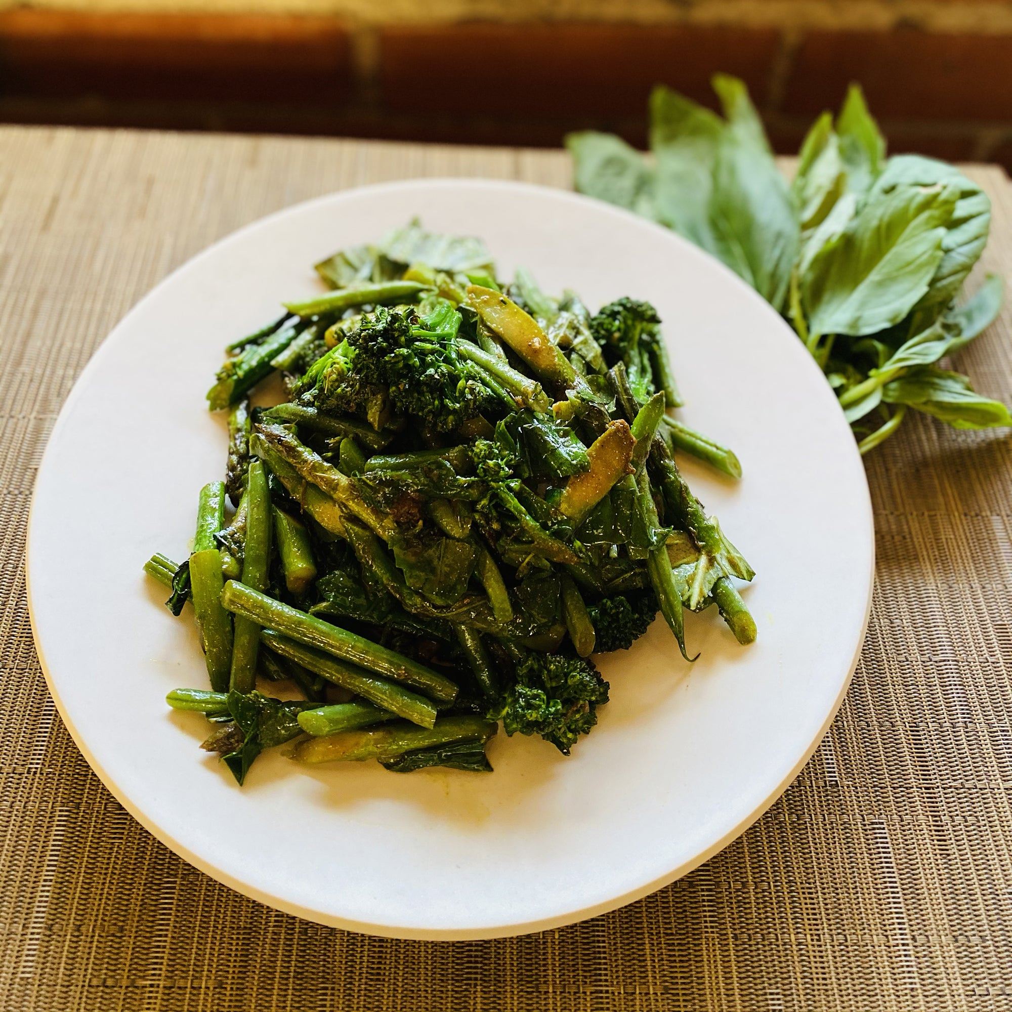 Thai Green Veggies
