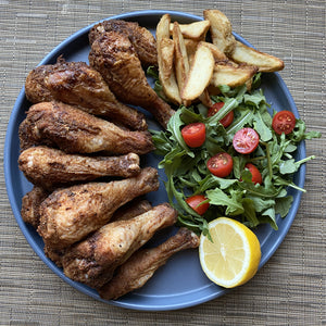 Symone's Ras El Hanout Dry Rubbed Chicken Drumsticks