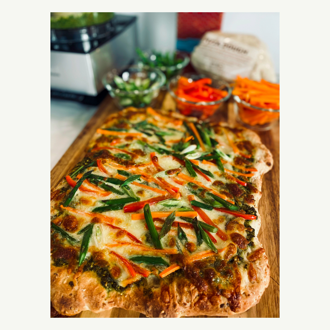Thai Pizza (Yes, please!)
