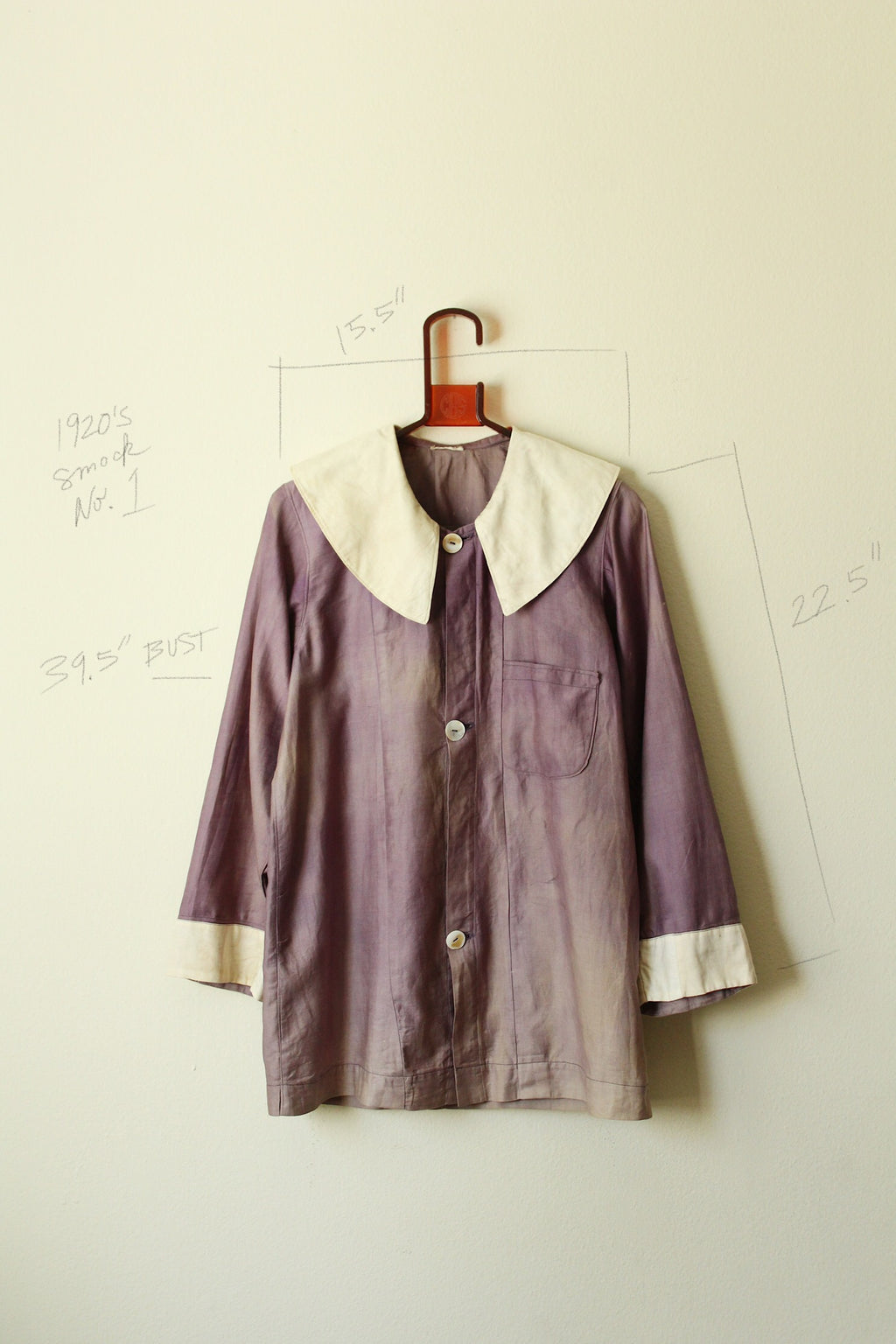 1920's Cotton Smock