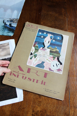 "1929 ""French Art & Industrie"" Magazine"
