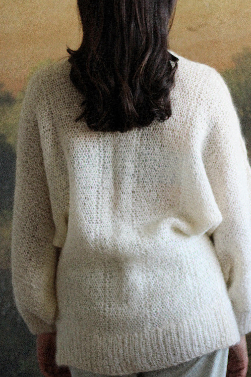 1960's Billow Sleeve Cardigan  |  VINTAGE