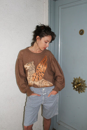 1980's ESCADA Griffin Sweater