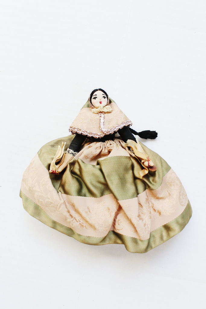 Vintage two-sided doll