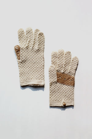 Knit Driving Gloves