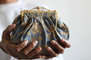 1930's Periwinkle Purse