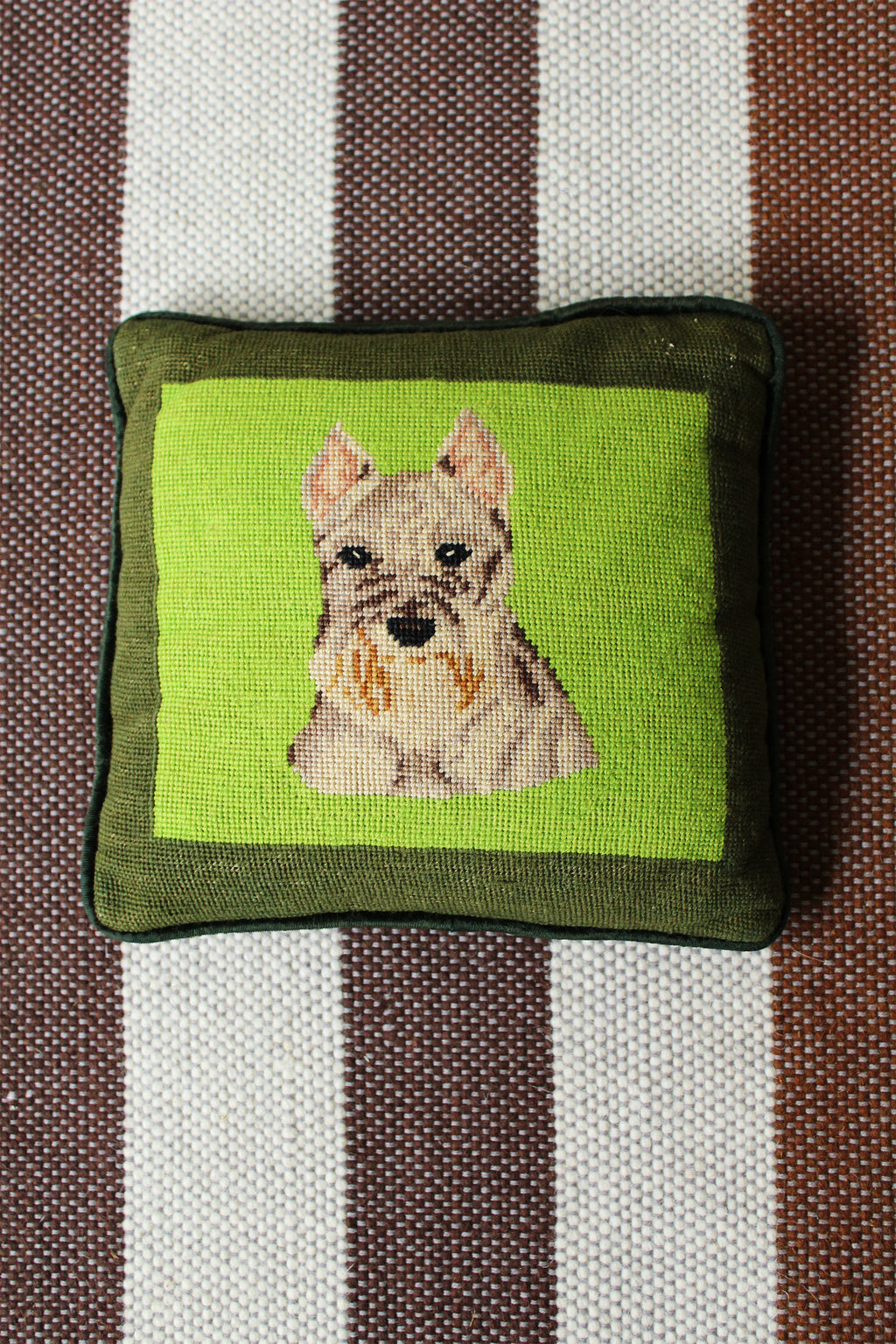 Terrier Pillow