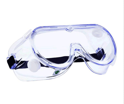 Indirect Vent Safety Goggles - Protect eyes from droplets, dust,  and debris - Adjustable