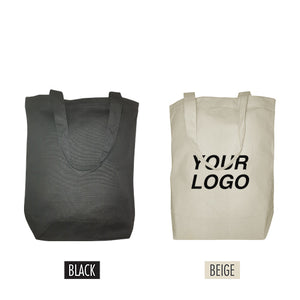 "Canvas Promotional Tote Bag 13"" W x 5""D x 15"" H - 8oz"
