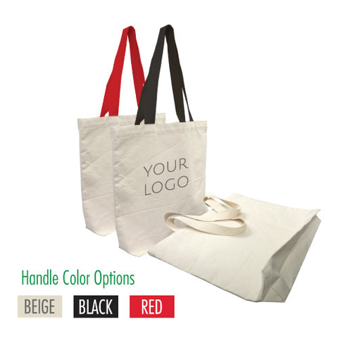 "Promotional Canvas Bag 16"" W x 3""D x 14"" H -12oz"
