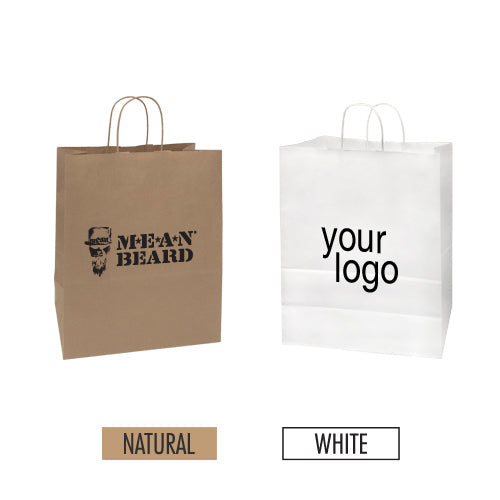"Eco-friendly Paper Bag 13"" x 6"" x 15"" - Item #SKPB_130615"