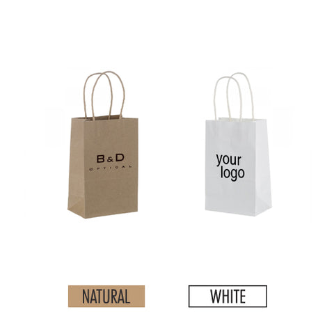 "Eco-friendly Paper Bag 5"" x 3"" x 8"" - Item #SKPB_050308"