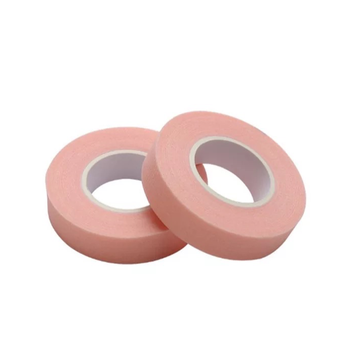 NON WOVEN PINK FABRIC TAPE - 2 pack