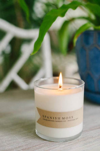 Spanish Moss Soy Candle