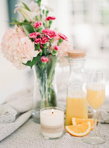 Sunday Brunch Mimosa Soy Candle