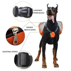 dog saddle packs harness