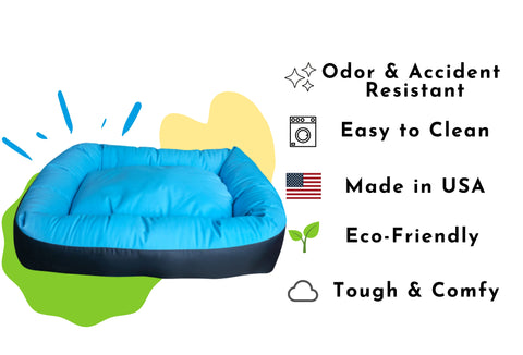 waterproof anti bacterial nestle bed for dogs