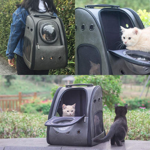 Comfortable & Breathable cat backpack carrier