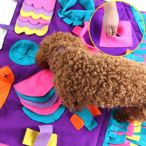 snuffle mat for dogs, interactive puzzle