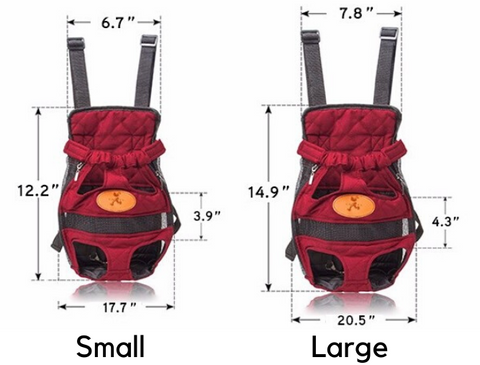 chest carrier for small dogs