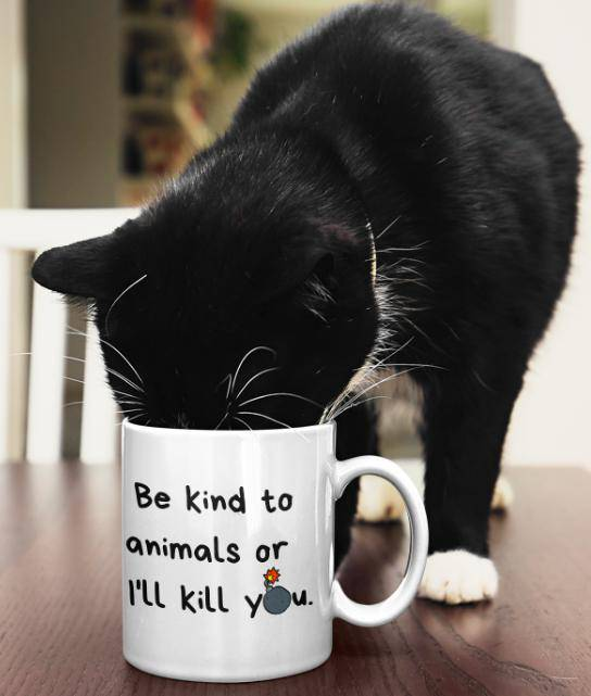 Be Kind Mug-Baxter & Bella