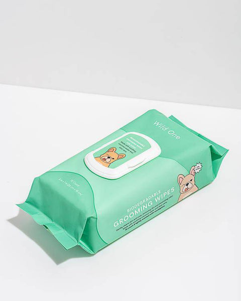 Wild One Dog Bath & Grooming Wipes