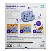 Nina Ottosson Dog Hide N' Slide Interactive Treat Puzzle Dog Toy - Purple-dog puzzle toy-Baxter's Petshop