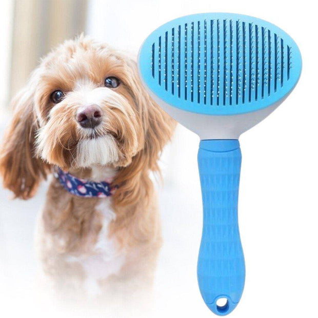 Multi-Functional Grooming Comb for Dogs and Cats-pet hair removal brush-Baxter & Bella