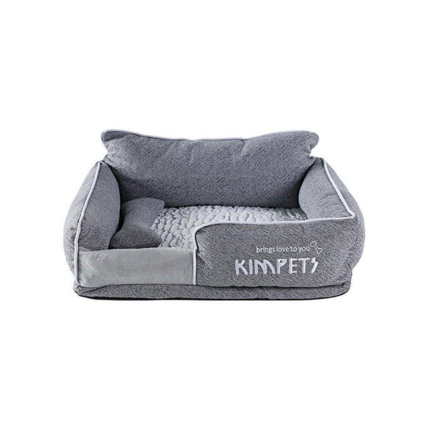 High Back Memory Foam Nest Bed for Cats and Dogs-pet bed-Baxter & Bella