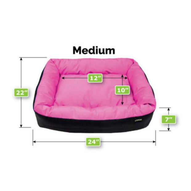 Waterproof Barrier Anti-Bacterial Nestle Dog Bed-dog bed-Baxter & Bella