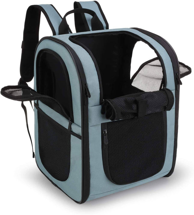 Breathable Large Pet Carrier Backpack-pet carrier-Baxter & Bella