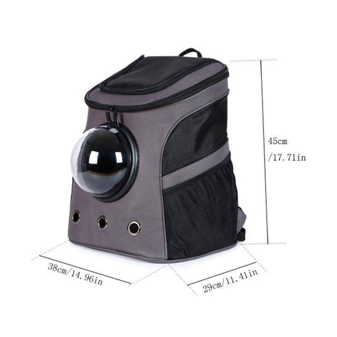 The Fat Cat Backpack for Large Cats & Small Dogs-pet carrier-Baxter & Bella
