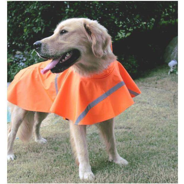 Yellow Raincoat with Hood for Small & Large Dogs-dog coat-Baxter & Bella