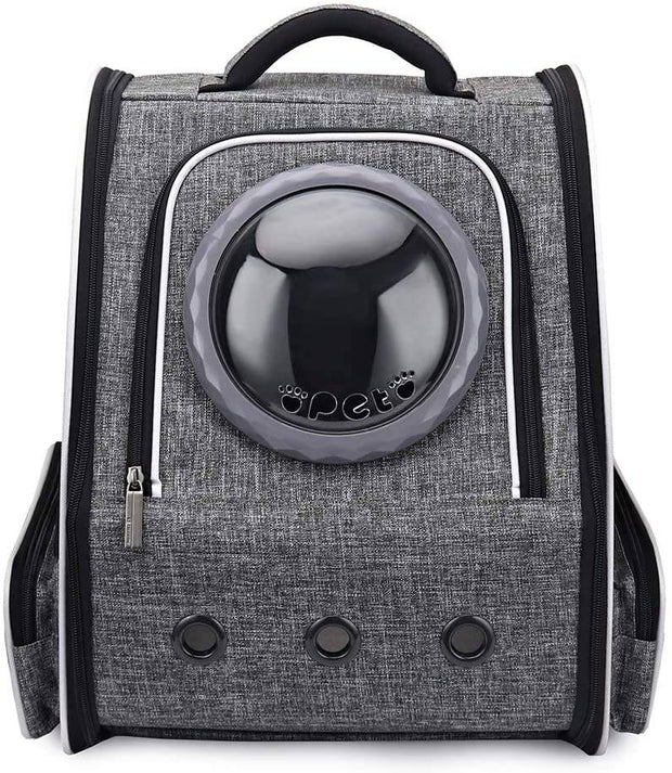 Stylish Cat Backpack for Large Cats-pet carrier-Baxter & Bella