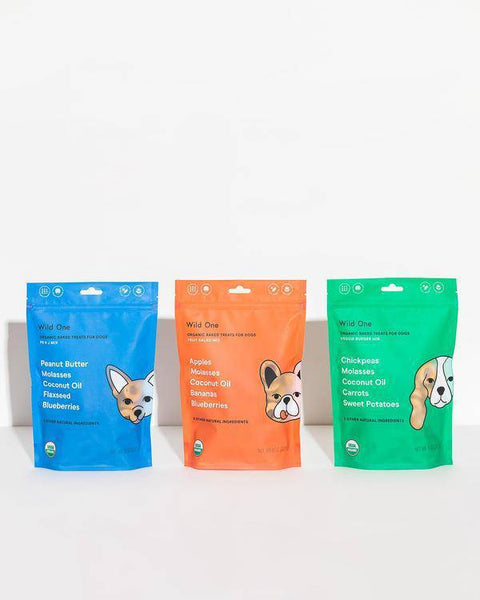 Organic PB&J Treats-dog treats-Baxter & Bella