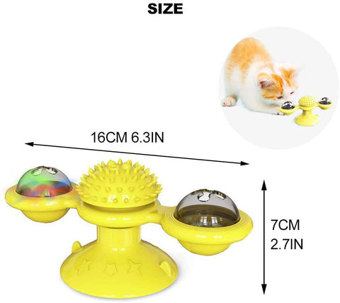 The Windmill Interactive Cat Toy-cat toy-Baxter & Bella