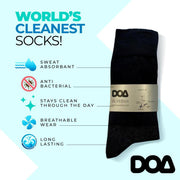 SilverPro Anti Bacterial & Odorless Socks (3-pack)-socks-Baxter & Bella