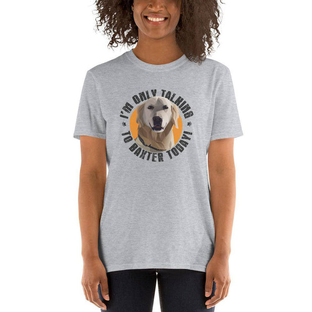 Personalized Pet T-Shirt // Unisex-Baxter & Bella