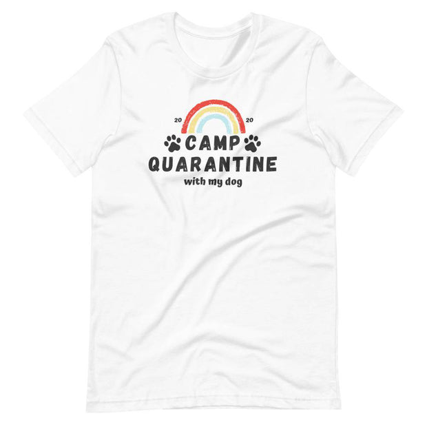 Camp Quarantine with My Dog Limited Unisex Tee-Baxter & Bella