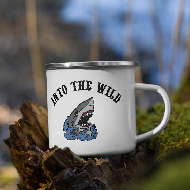 In to the Wild Enamel Mug-Baxter & Bella