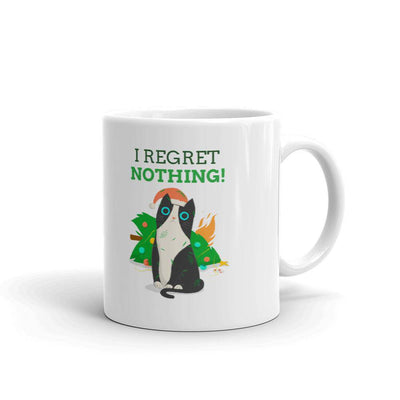 X-mas Tree Cat Mug-mug-Baxter & Bella