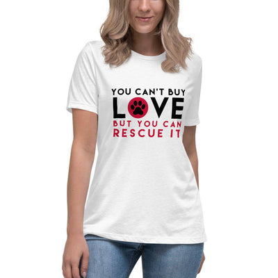 Rescued Animals - Women's Relaxed T-Shirt-T-shirt-Baxter & Bella