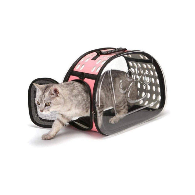 Shoulder Pet Carrier Foldable Cat Bag-pet carrier-Baxter & Bella