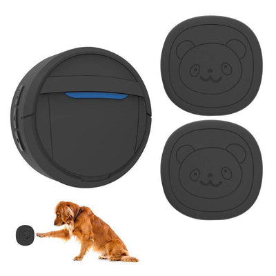 Wireless Waterproof Touch Button Dog Training Door Bell-doggie doorbell-Baxter & Bella