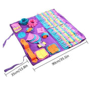 SniffSnuff Master Puzzle Toy Mat for Dogs-dog toy-Baxter & Bella