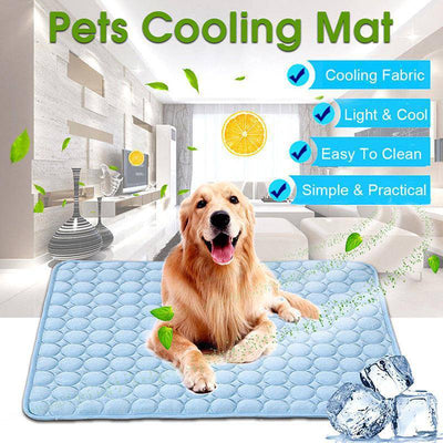 Self Cooling Mat for Pets - S/M/L/XL-cooling pad-Baxter & Bella