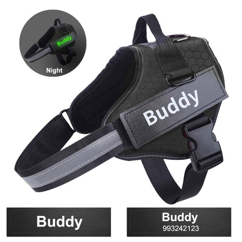Personalized No Pull Harness for Dogs-harness-Baxter & Bella