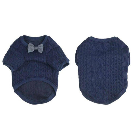 Bow Tie Dog Sweatshirt-Baxter & Bella