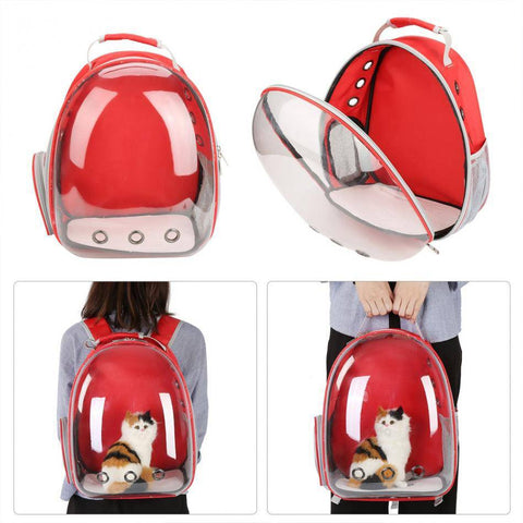 Pet Carrier Transparent Backpack-pet carrier-Baxter & Bella