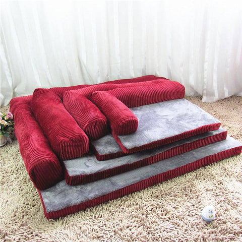 L-Chaise Dog Bed